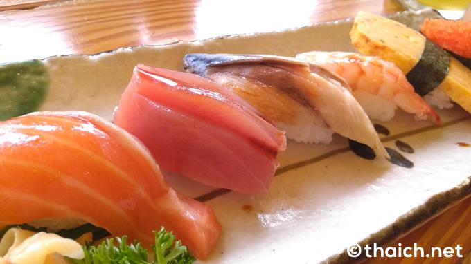「ランチ寿司セット」(189バーツ)
