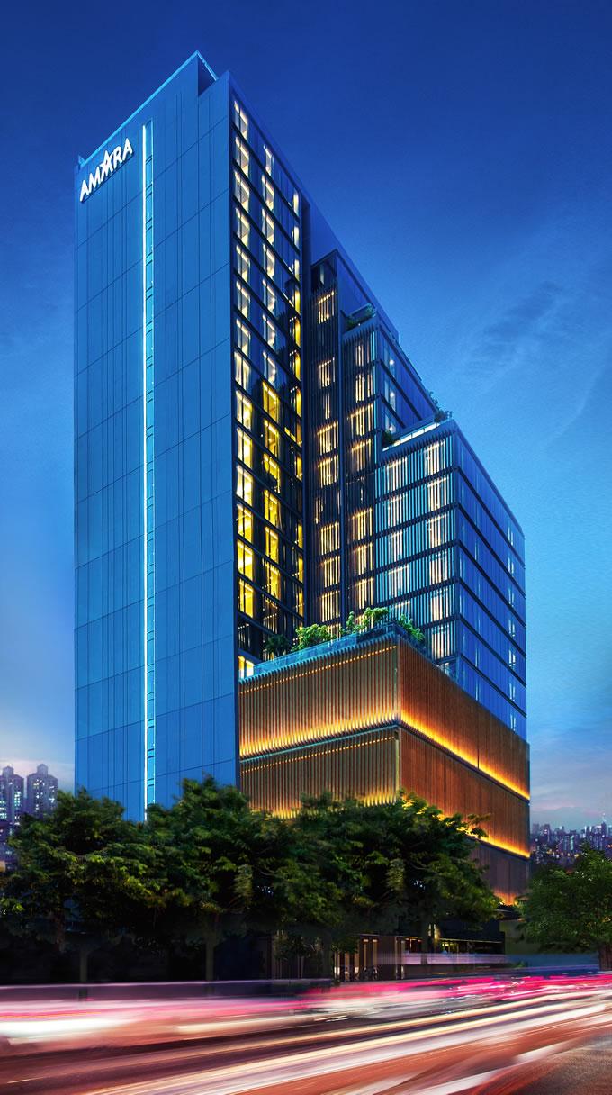 アマラ バンコク ホテルが3周年記念プロモーション「We Turned 3」