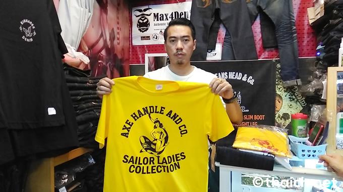Axe Handle & Co.のTシャツ