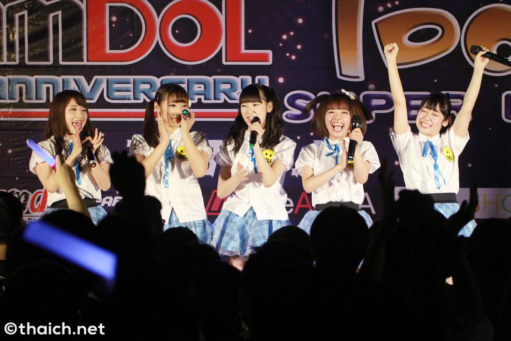 東京CLEAR'S SMILE ライブ in バンコク[Siamdol 1st Anniversary IDOL Super Live Thailand × Japan Friendship]