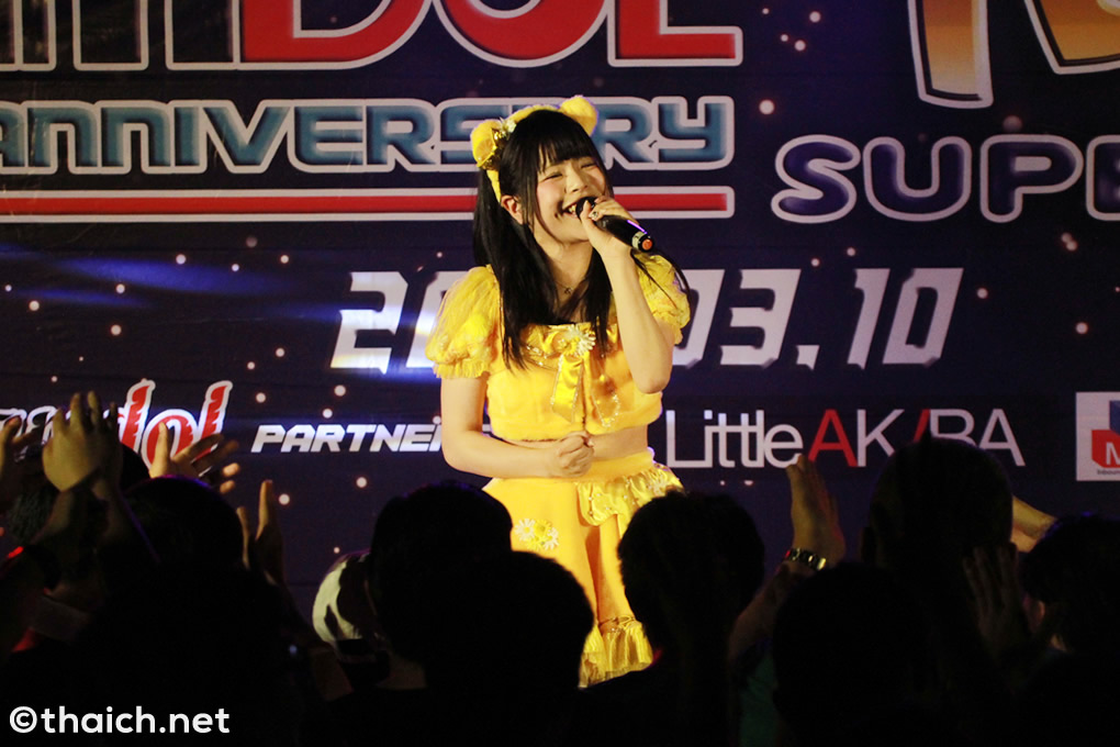 葉月あすか ライブ in バンコク[Siamdol 1st Anniversary IDOL Super Live Thailand × Japan Friendship]