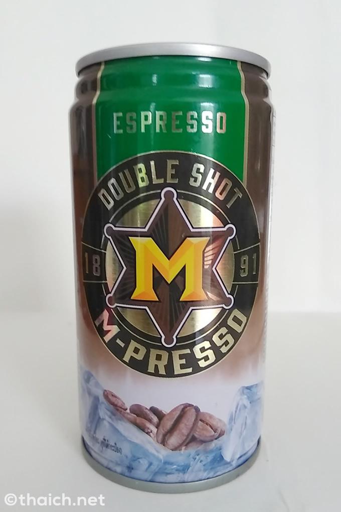 エナジードリンクM-150の缶コーヒー!?「M-PRESSO」が新登場