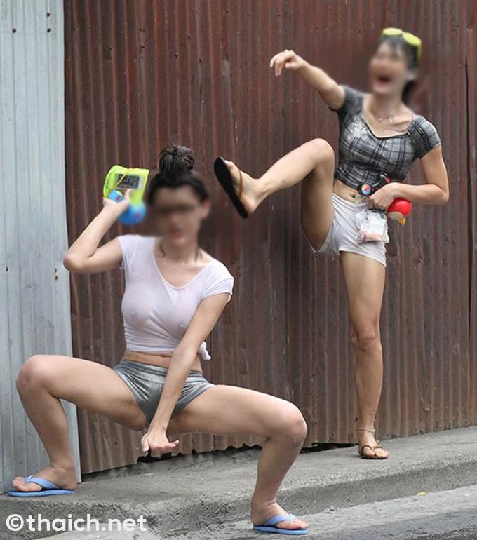水かけ祭りでセクシーな服を着ないように呼びかけ、性犯罪被害防止目的で