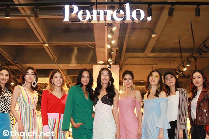 Pomelo 2018年春夏コレクションファッションショー