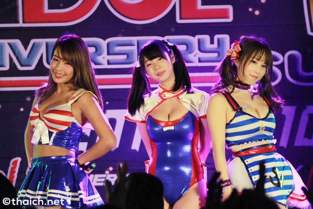 グラビアアイドルユニットsherbet ライブ in バンコク[Siamdol 1st Anniversary IDOL Super Live Thailand × Japan Friendship]