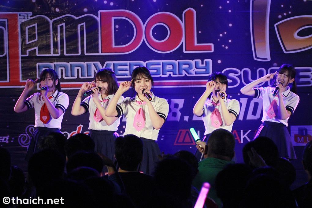 ヤンチャン学園音楽部 in バンコク[Siamdol 1st Anniversary IDOL Super Live Thailand × Japan Friendship]