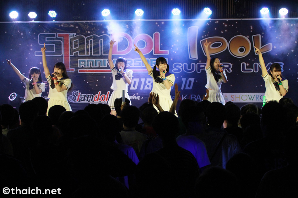 代々木女子音楽院 in バンコク[Siamdol 1st Anniversary IDOL Super Live Thailand × Japan Friendship]