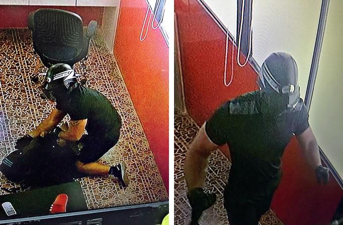 ロシア人強盗をスワンナプーム空港で逮捕、両替所で女性を殴打し70万バーツ強奪