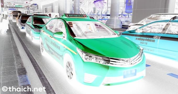 客に暴言も、またもバンコク空港からの不良タクシーがSNSで晒される