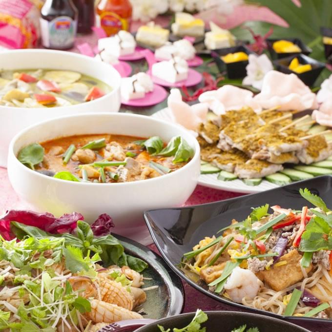 ホテル日航大阪】カフェレストラン セリーナにて「タイフードフェア」開催