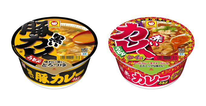 カップ麺「マルちゃん」にタイの味!「赤いカレーうどん タイ風」発売
