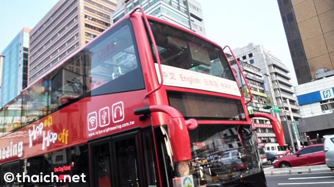 台北の2階建て観光バスはタイ語の音声ガイドあり!【台湾でタイを探す】