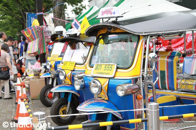 タイの三輪タクシー・トゥクトゥクは128万円![第19回 タイ・フェスティバル]