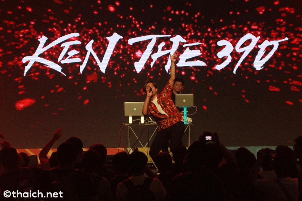 KEN THE 390、バンコクでタイのアイドルSweat16!とコラボ[ASIA COMIC CON 2018]