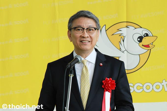 タイ王国大使館 駐日タイ王国特命全権大使バンサーン・ブンナーク閣下