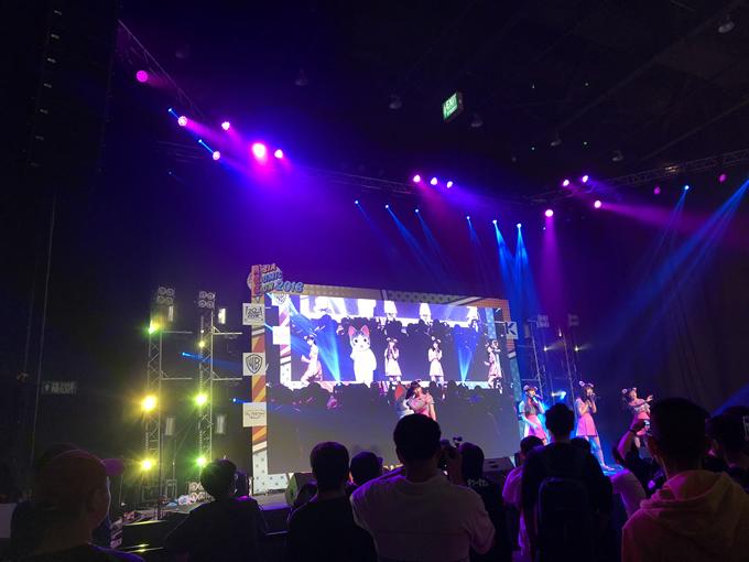 Wi-Fi-5がタイ・バンコクで行われた「Asia Comic Con2018」でタイ初ライブを開催! 主題歌を担当するアニメのチーも一緒に!!