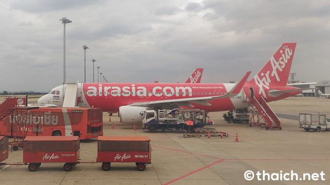 タイ・エアアジアFD178便のエンジンが爆発・出火、モルディブへ引き返す