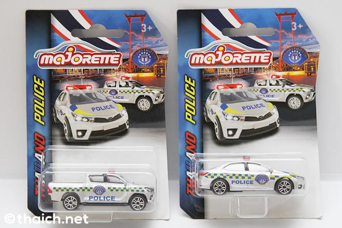 タイ警察のパトカーがMajoretteのミニカーになった!