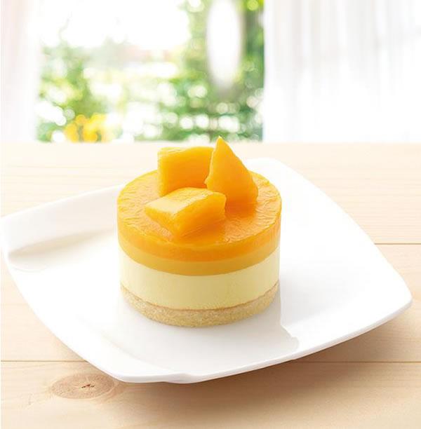 モスバーガー、タイ産マンゴーの「やさしい豆乳スイーツ マンゴー&ムース」発売