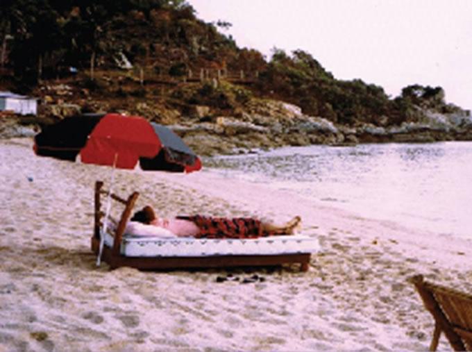 アコーン・フーントラクル氏が一目惚れしたビーチ