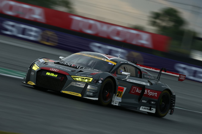 SUPER GT第4戦タイ大会、Audi R8 LMSが無念のリタイヤ