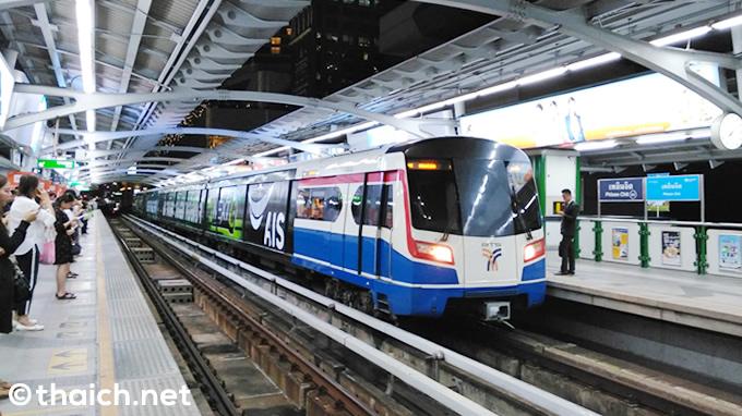 BTSスクンビット線、プーチャオ駅からケーハ駅までが2018年12月6日開通
