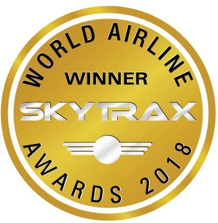 2018年「世界の航空会社トップ10」 でタイ国際航空がランク入り