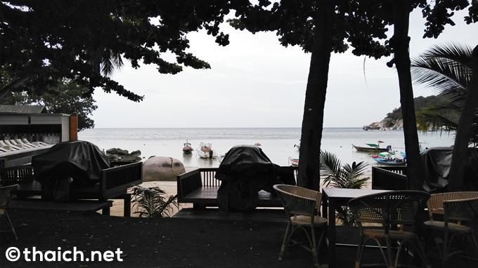 海の見えるレストランで朝食ビュッフェ~タオ島「ハーティエン ビーチ リゾート」