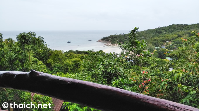 High Bar:タオ島の絶景バーからの景色