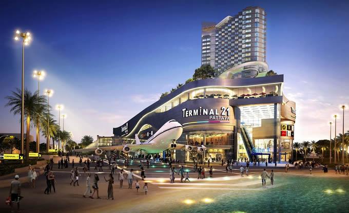 「ターミナル21 パタヤ」が2018年10月19日オープン