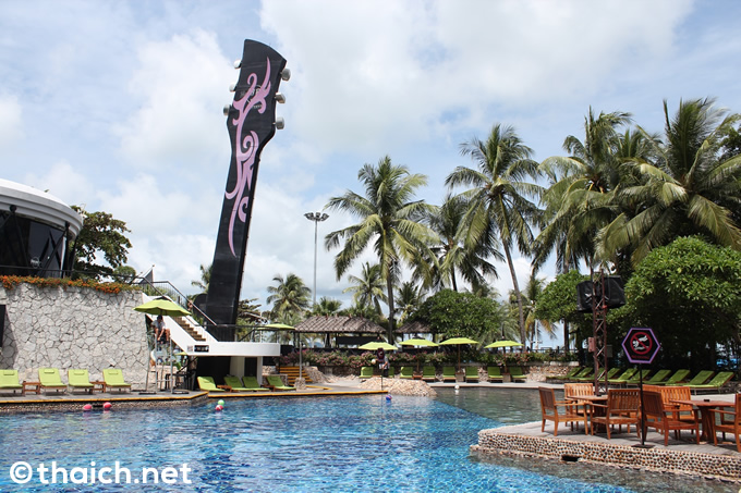 プール、スパ、ロッククライミングなどなど楽しみ一杯!~ハードロック・ホテル・パタヤ