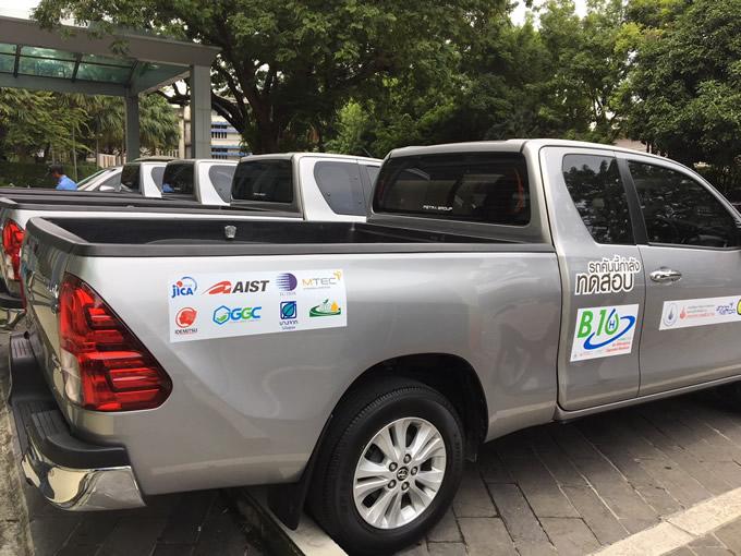 出光、パーム椰子由来のバイオディーゼルの燃料混合比率を10%とした実車テスト実施