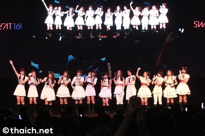 アイドルグループSWEAT16!が「第9回 シラチャ日本祭り 2018 」に出演