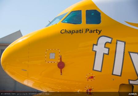 格安航空会社スクートに「エアバス320neo」、名称は「Chapati Party/チャパティ・パーティ」