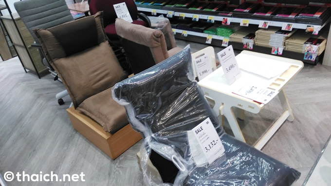 タイ・バンコクで「座椅子」を買う