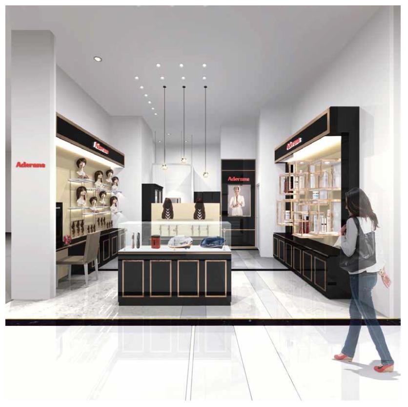アデランスが8年ぶりにタイに再出店、サイアム髙島屋にオープン