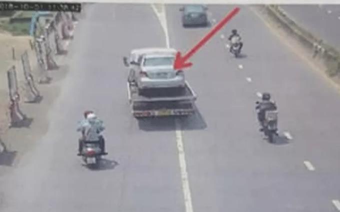 レッカー車による交通違反で荷台の乗用車に罰金請求、タイ警察がミスを認める