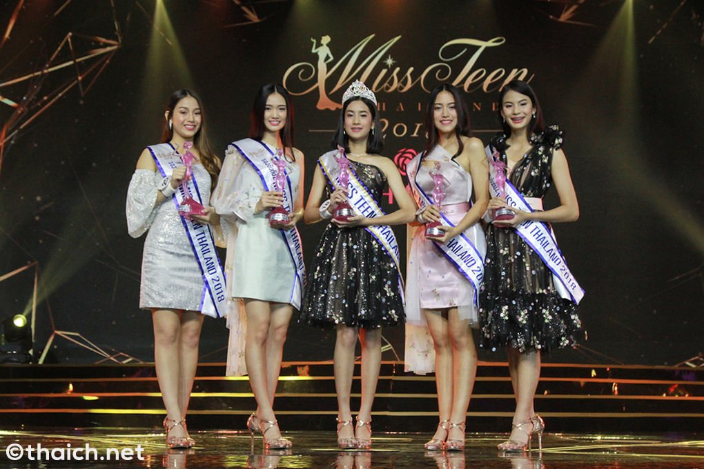 タイで一番の美少女はワンラダー・ペッチャムナーンさん(16歳)に決定[Miss Teen Thailand 2018]