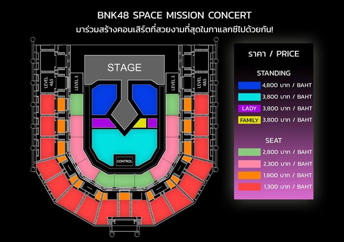 BNK48 Space Mission Concert