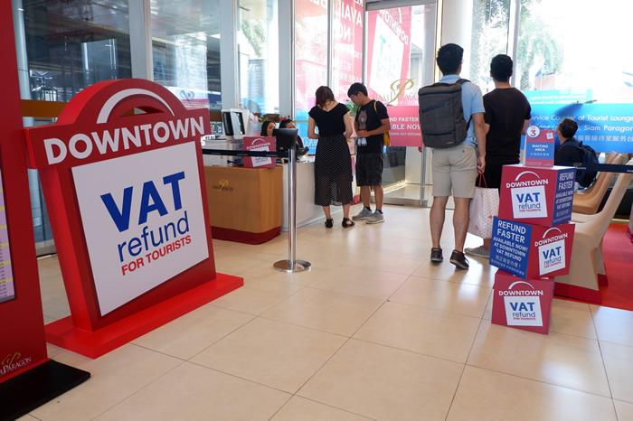 付加価値税(VAT)払い戻しがバンコクの街中で可能に!
