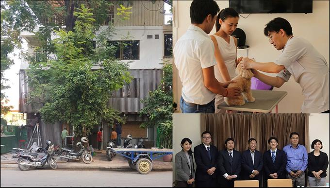 【カンボジア】プノンペンで⽇本⼈獣医師が動物病院を2019年2⽉に開業予定