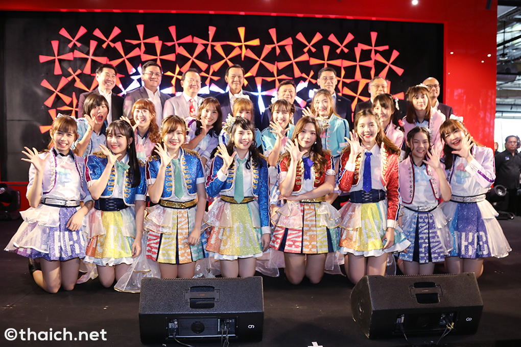 BNK48がライブ披露![True 5G Digital Thailand, The 1st Showcase powered by TrueMove H]