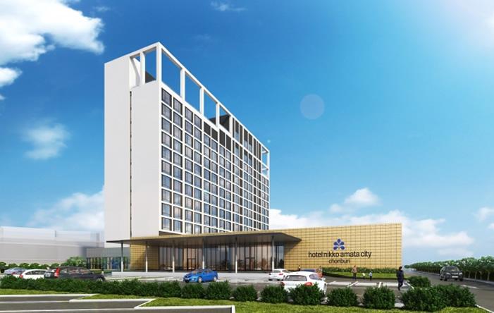 「ホテル・ニッコー・アマタシティ チョンブリ」2021年にオープン