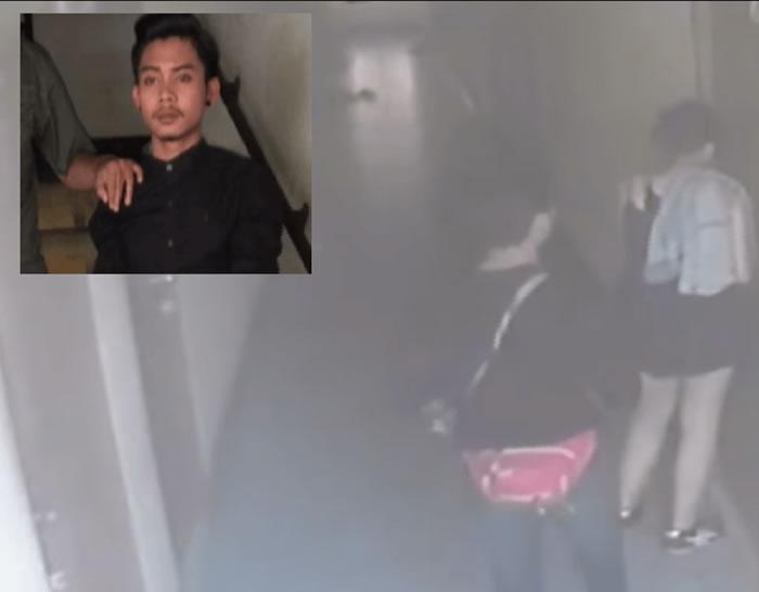 """パタヤの16歳少女殺害事件、""""黒い服の男""""を逮捕"""