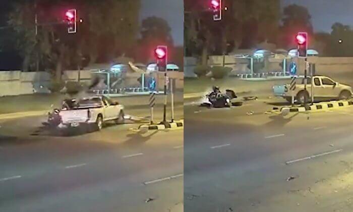 パタヤでハーレーがトラックに衝突死!実は、その両方とも!?