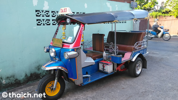 4WDの3輪車タクシー・トゥクトゥク!?