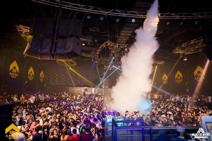バンコクの大型パブ「56 Arena Music Hall」を摘発、114人から薬物陽性反応