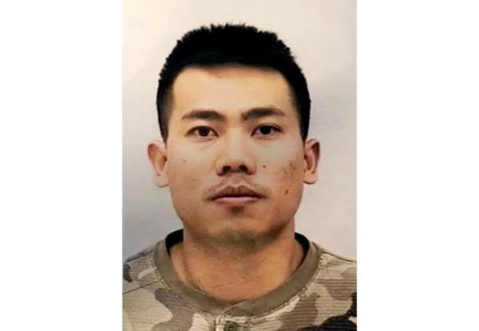 ピーター・リアン(Peter Lian)容疑者(21歳) (写真:米国インディアナポリス市警察)