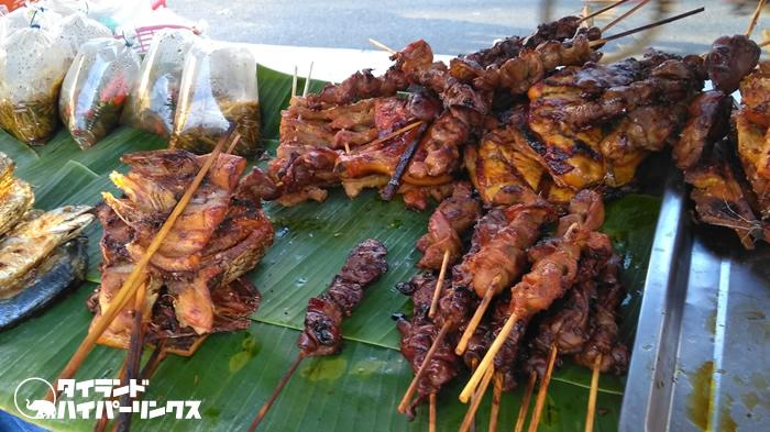 朝食にカエルはちょっとヘビー(笑)~バンコクの街角の風景