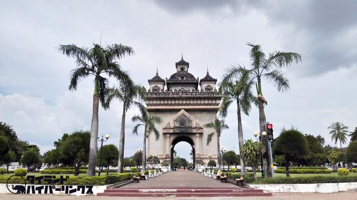タイの隣国ラオスの首都ビエンチャン